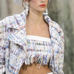 Detalhe Chanel desfile de moda Primavera-Verão 2018, Paris - Detalhe 1.