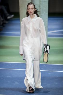 Celine desfile de moda outono-inverno 2016-2017, Paris - Look 2.