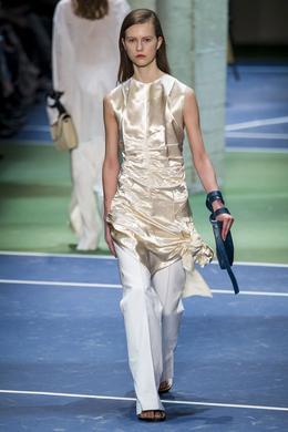 Celine desfile de moda outono-inverno 2016-2017, Paris - Olhe 4.