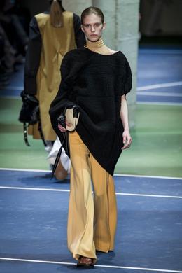 Celine desfile de moda outono-inverno 2016-2017, Paris - Olhe 7.