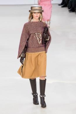 Défilé Chanel automne-hiver 2016-2017, Paris - Look 19.