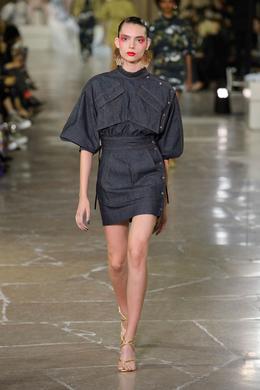 Kenzo desfile de moda Primavera-Verão 2017 Paris - Olhe 8.