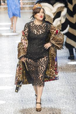 Défilé Dolce & Gabbana automne-hiver 2017-2018, Milan - Look 111.