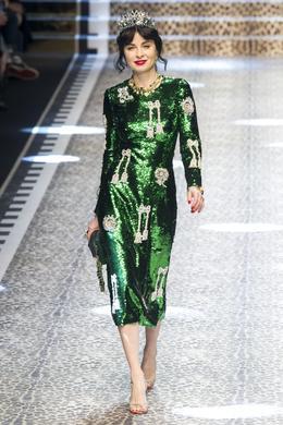 Défilé Dolce & Gabbana automne-hiver 2017-2018, Milan - Look 16.