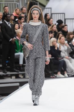 Défilé Chanel automne-hiver 2017-2018, Paris - Look 9.