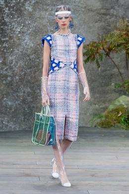 Chanel Spring-Summer 2018 show, Paris - Look 8.