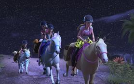 Barbie et ses soeurs : à la recherche des chiots