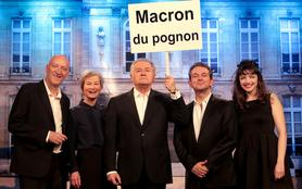 Théâtre des 2 ânes : Tout est bon dans le Macron