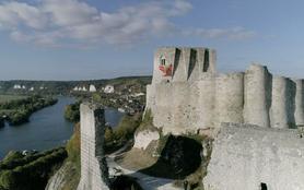 Château-Gaillard, une forteresse imprenable