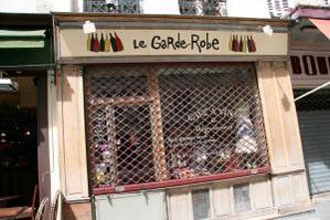 Restaurant Le Garde-Robe
