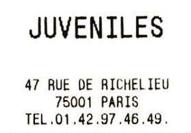 Restaurant Juvéniles