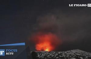 Des touristes et journalistes blessés lors d'une éruption de l'Etna