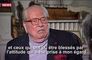 Jean-Marie Le Pen : La bataille du deuxième tour n'est pas perdue