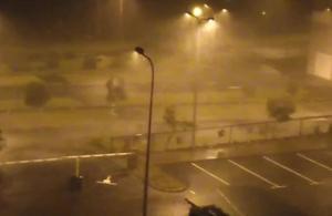 Ouragan Maria : les premières images de la préfecture montrent des vents «extrêmement violents»