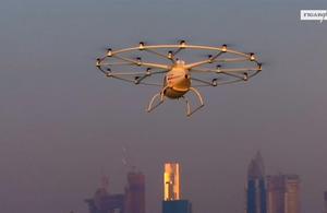 Découvrez le premier taxi-volant sans pilote venu de Dubaï
