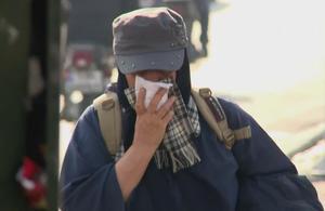 Téhéran suffoque à cause d'un important épisode de pollution