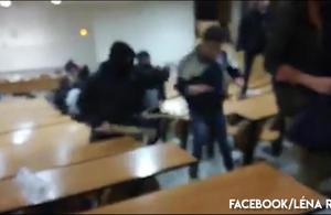 Montpellier : des personnes encagoulées délogent des étudiants à la fac de droit