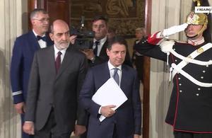 Giuseppe Conte veut devenir «l'avocat du peuple italien» en Europe