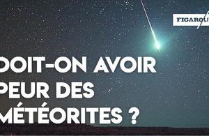 Est-ce grave si une météorite s'écrase sur la Terre?