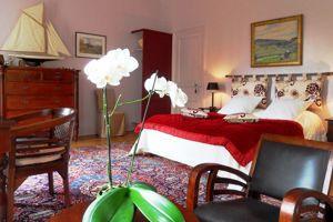 La chambre Monsieur: l'harmonie des couleurs, l'âme des objets...