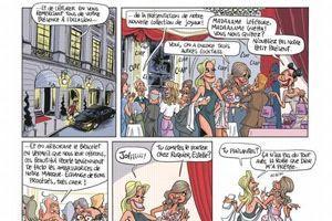 Extrait de la bande dessinée <i>Rachida, aux noms des pères. </i>