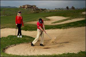 La Bagnaia, nouveau défi des golfeurs.