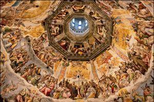 La coupole d'Il Duomo à Sienne.
