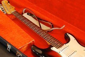 La guitare jouée par Bob Dylan au Newport Folk Festival de 1965