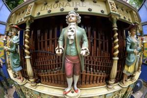 Un orgue à Fête Paradiso.
