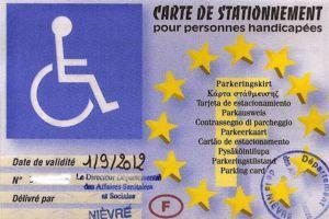 les cartes de stationnement des handicap s suscitent les convoitises. Black Bedroom Furniture Sets. Home Design Ideas