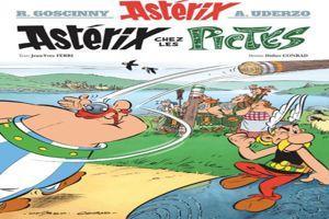 La couverture définitive d'<i>Astérix chez les Pictes</i>.©Albert René.