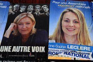 Anne-Sophie Leclere a été suspendue par le FN.