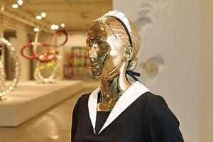 «Irina» de Michael Elmgreen et Ingar Dragset. Galerie Perrotin.