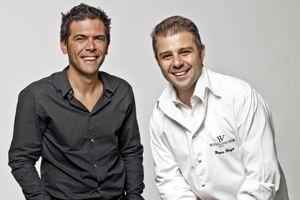 Sylvain Blanc et Hugues Pouget