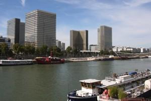 Port de Bercy.