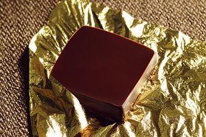 Le bonbon de chocolat au yuzu.