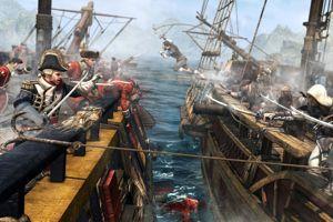 Lors des batailles navales, le héros et son équipage peuvent aborder les navires ennemis.