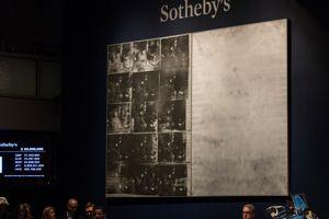 Sotheby's a réussi, avec ce Warhol, à battre les bons scores de Christie's.