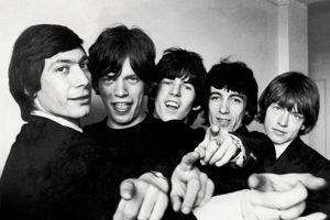 Affiche de l'exposition The Rolling Stones 50th, une expérience photographique et musicale.