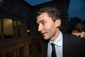 Julien Sanchez, élu maire de Beaucaire (Gard)