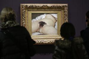 Courbet a peint ce tableau en 1866.