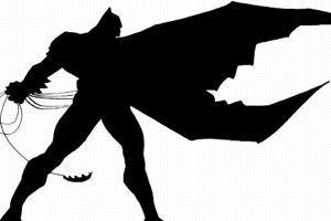 Dessin de Frank Miller pour <i>The Dark Knight Returns</i>.