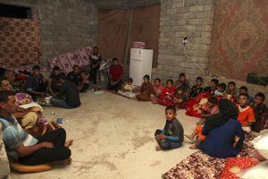 Un camp de réfugié à Dohuk