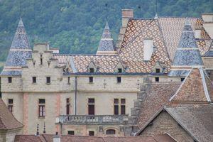 Le château de Pupetières, à Chabons (38).