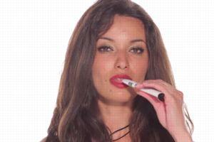 Capture d'écran d'une publicité pour les e-cigarettes JWell.