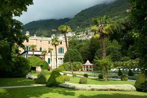 La villa Feltrinelli.