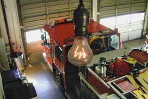 L'ampoule de la caserne de Livermore, en Californie, brille depuis 1901.