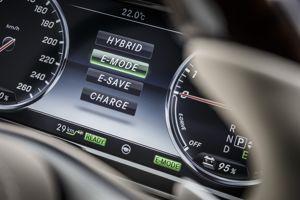 La S 500 PIH bénéficie de quatre modes de conduite.