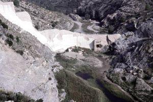 Le barrage de Malpasset.