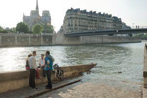 Le quai d'Orléans.
